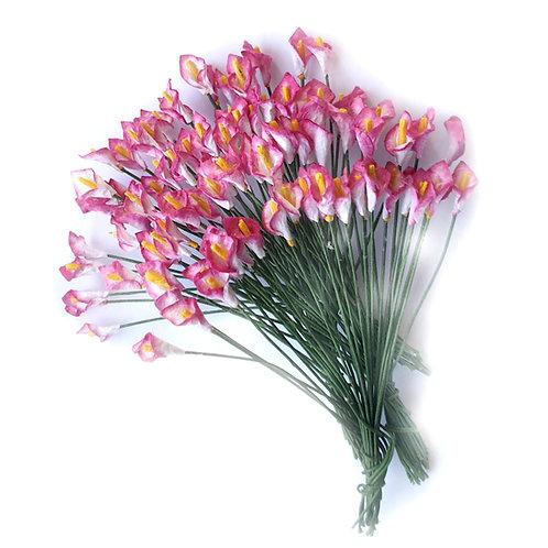 Paper Calla Lily - 10mm (10pcs)