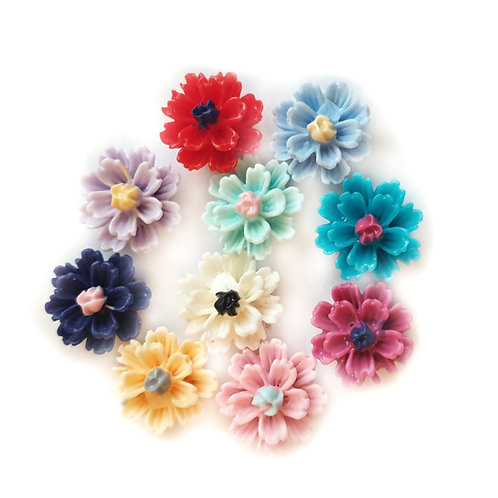Flowers 12 - 12mm (20pcs)