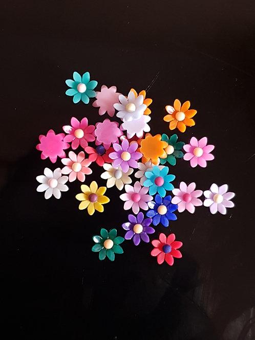 Flowers 30 - 9mm (30pcs)