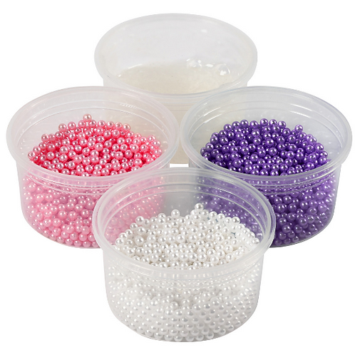 Pearl Clay -  (3x25g + gel set) 38g