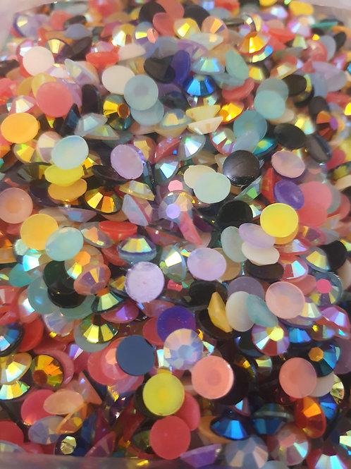 Filler Dots 6mm - 6+ Colours  (10g /~200pcs)