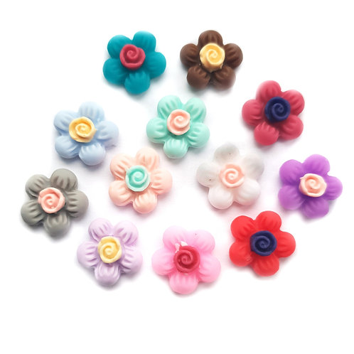 Flowers 8 - 12mm (20pcs)