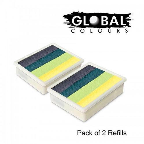 Global 10g Refills (2x) Borneo