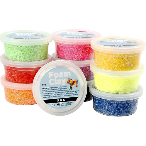 Foam Clay - Basic (10x35g set)