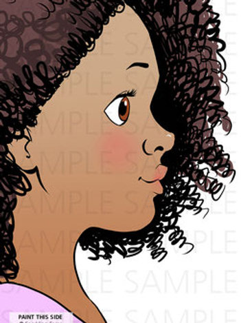 Sparkling Faces Board - Isabelle Left-Handed