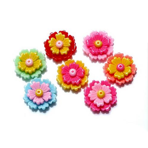 Flowers 11 - 18mm (10pcs)