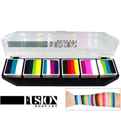 Fusion Rainbow Burst Palette
