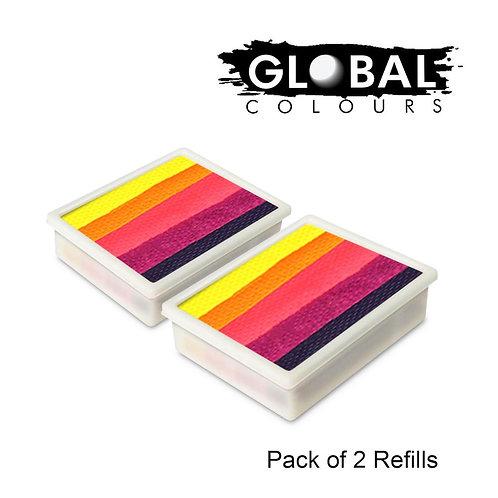 Global 10g Refills (2x) Leanne's Neon Nirvanna