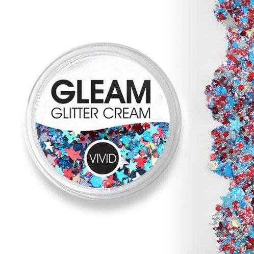 Red White & Boom - Gleam Chunky Glitter Cream