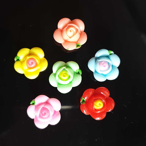 Flowers 15 - 20mm (10pcs)