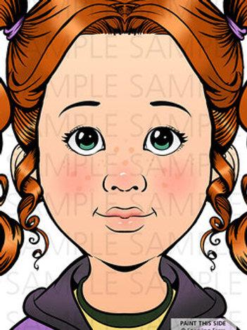 Sparkling Faces Board -Nina