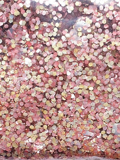 Bio Sparkle Festival Glitter Blend - Gold Princess