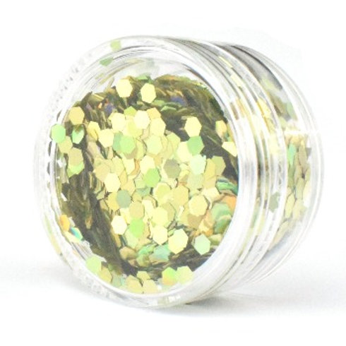 2.5mm - Gold Holographic