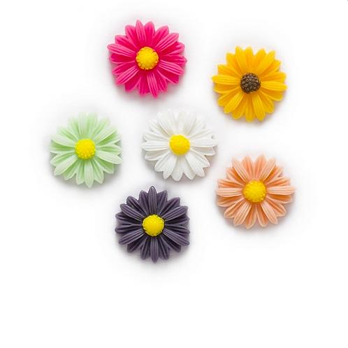 Flowers 14 - 10mm 9 colours (20pcs)
