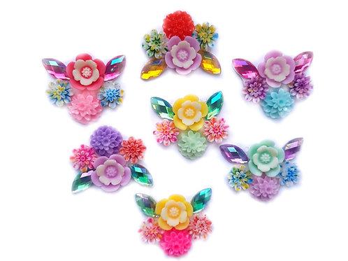 Flower Garden -  7pc Cluster set