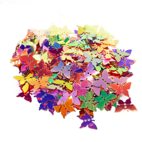 Butterfly Sequins - 12*17mm (60pcs)