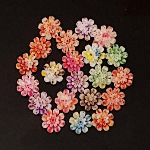 Flowers 7 - 10mm (25pcs)