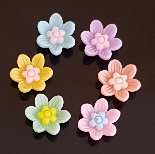 Flowers 33 - 14mm (20pcs)