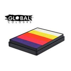 Global Rainbow Cake Caribbean - 50g