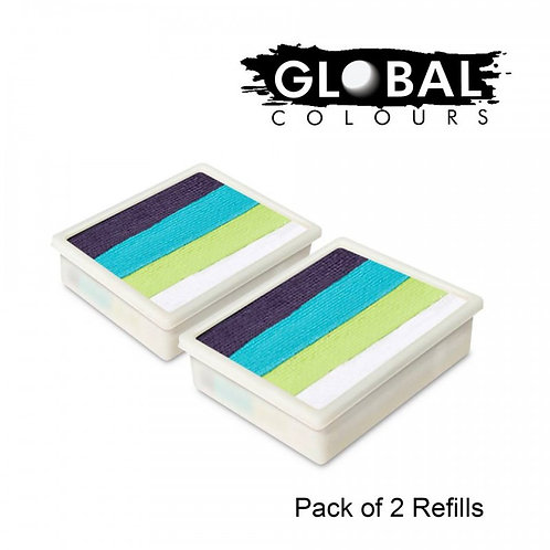 Global 10g Refills (2x) Taupo
