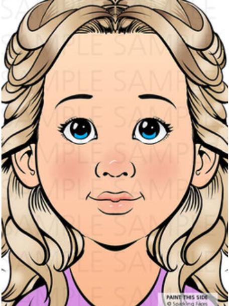 Sparkling Faces Board - Sophia
