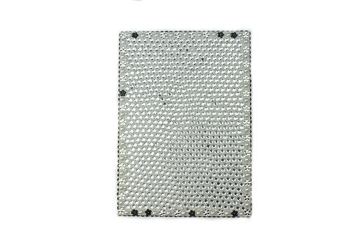 Gem Gemma Acrylic Mirror - Silver