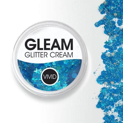 Sapphire Splendor - Gleam Chunky Glitter Cream