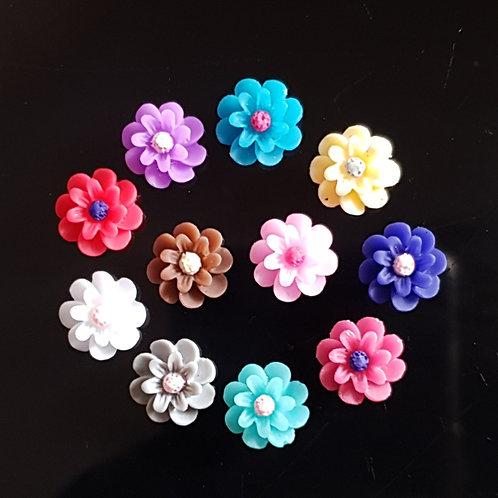 Flowers 21 - 10mm (20pcs)