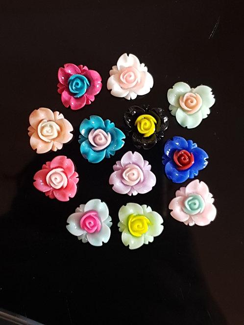 Flowers 19 - 16mm (20pcs)