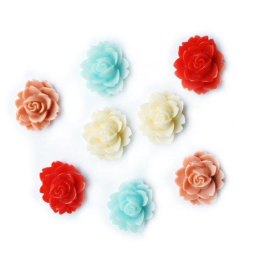 Lily Roses - 15mm (20pcs)