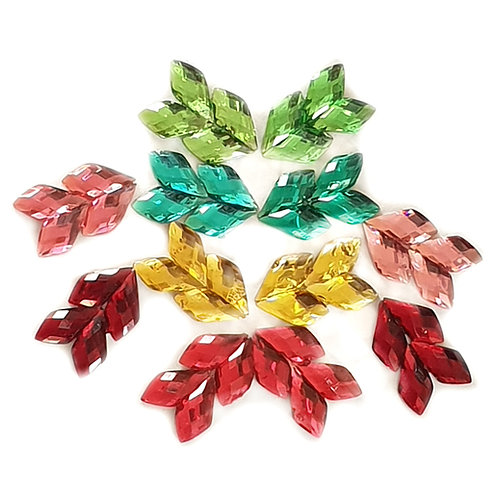 Arrow Wings - 8x13mm  (40pcs)