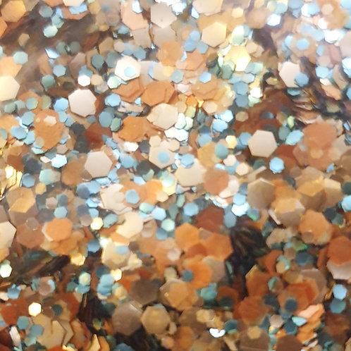 Bio Pure/Sparkle Festival Glitter Blend - Sea Gold