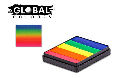 Global Neon Rainbow Cake - 50g