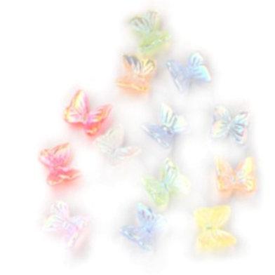 Tiny Butterflies - 7*11mm (15pcs)