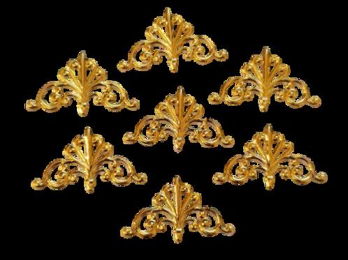Metal Crowns - 16x28mm (20pcs)