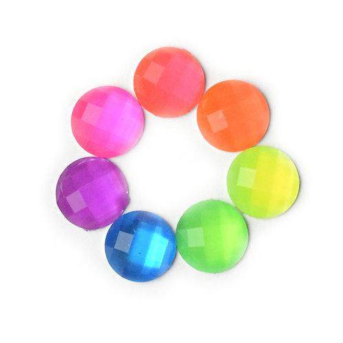 Neon dots - 10mm (20pcs)