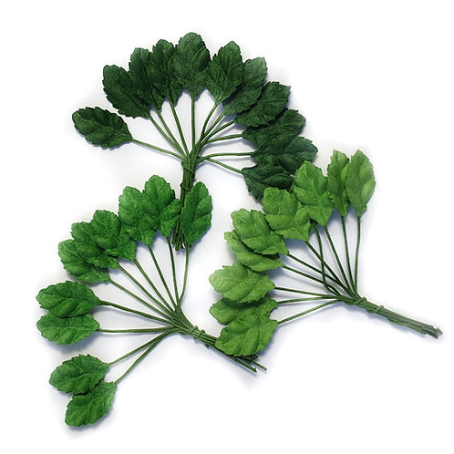 Mulberry Paper Leaves - 16mm (10/30pcs)