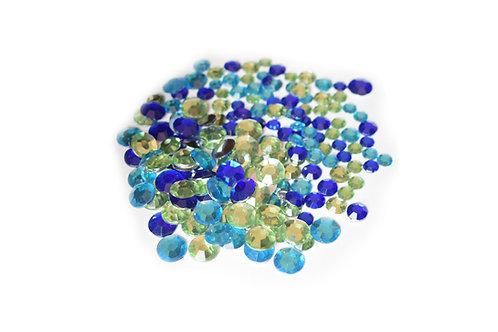Mixed Stones -BlueGreen mix