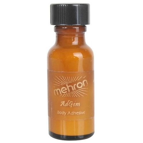 Mehron AdGem Liquid Adhesive -0.5oz