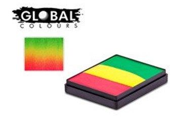 Global Rainbow Cake New-Orleans - 50g