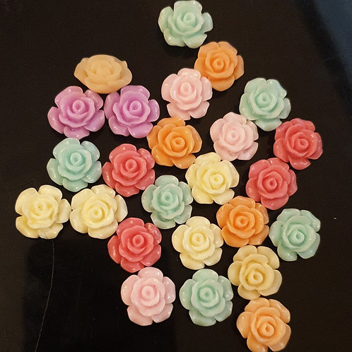 12mm Flowers 25pcs