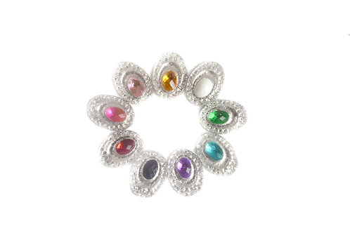 Oval Centers - Mixed 10x14mm  (20pcs)