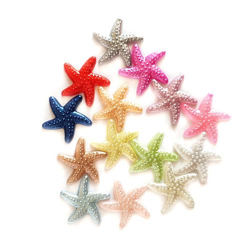Starfish - 18mm  (20pcs)