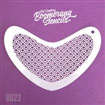 Boomerang - Peacock Scale