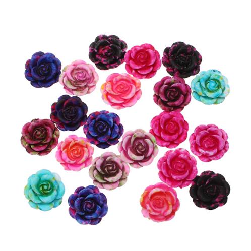 Flowers 61 - 12x13mm (25 pcs)