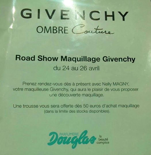 Road Show Maquillage Givenchy