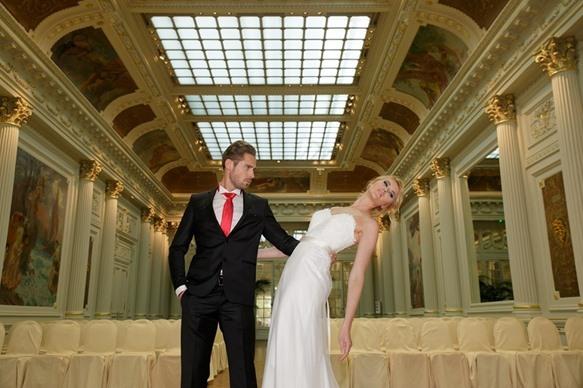 Shooting Mariage Palais d'Eugenie