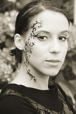 Maquillage artistique arabesque 2007