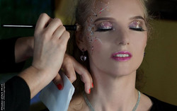 Maquillage artistique princesse