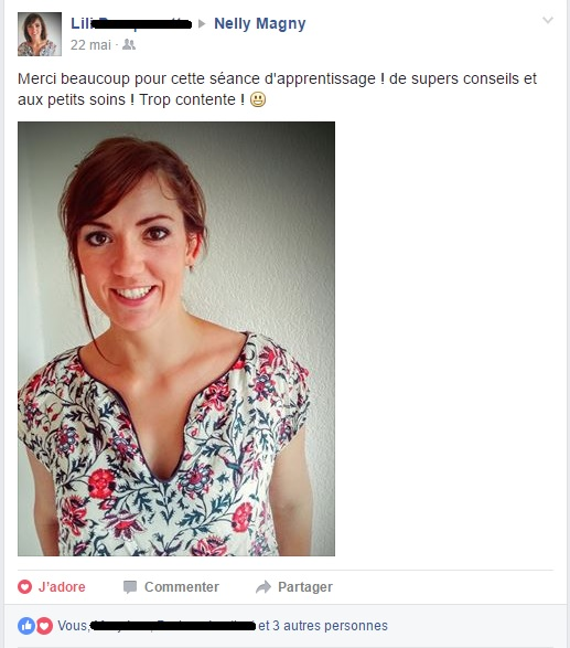 Commentaires face book